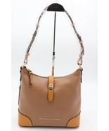 NWT Dooney & Bourke Claremont Tan Brown Leather Hobo Shoulder Bag New - $178.00