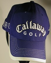 Callaway Golf FT-5 Tour i PGA Tour Blue Cap Hat New Era Adjustable Fits All EUC - $9.70