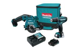 Makita 12V Max CXT Lithium Ion Cordless Circular Saw & Drill Driver - $499.99