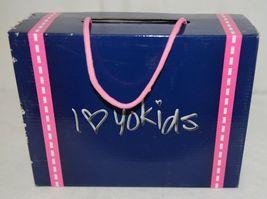 I Love Yo Kids AVA 92T Girls Fringe Boot Black Zip Up Size Seven image 10