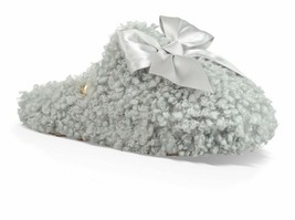 UGG Slippers Fluffy Addison Satin Bow NEW - $75.00