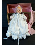 MADAME ALEXANDER DOLL HUGGUMS Christening #4819 in box with tags blue eyes - $38.61