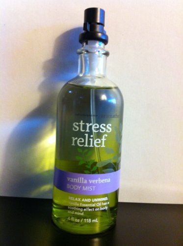 Bath and Body Works Aromatherapy Body Mist Stress Relief - Vanilla Verbena