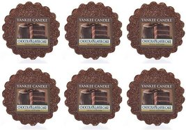 Yankee Candle Lot of 6 Chocolate Layer Cake Tarts Wax Melts - $18.00