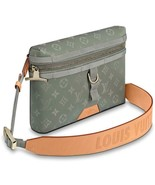 Messenger Titanium Monogram New Unused Vuitton Vuitton Men's Bag - $3,124.98