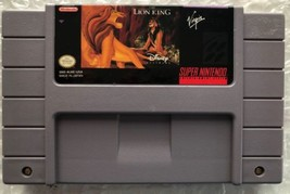 ☆ The Lion King (Super Nintendo 1994) SNES RARE Game Cart Only Tested Wo... - $11.50