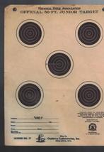 National Rifle Association NRA Official 50-Ft Junior Target Vintage Pack... - $12.05