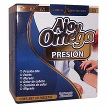 Presion (AJO y Omega Premium) 100% Original 2 BOTELLAS 60 tabletas - $19.59