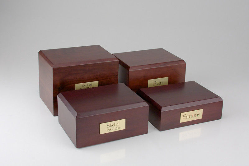 Bay Horse Figurine Funeral Cremation Urn Avail. in 3 Different Colors & 4 Sizes