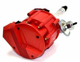 SBC Chevy 283 329 350 383 HEI Distributor & 8mm  SPARK PLUG WIRES image 3