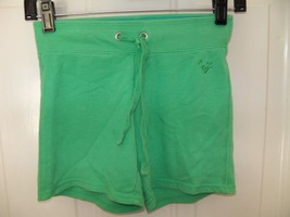 Justice Light Green Shorts Size 10 Girl's EUC - $15.39