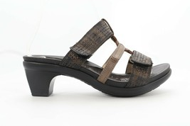 Abeo Gillia  Sandals  Black Women's Size US 7.5 Neutral  Footbed (EP)4491 - $75.00