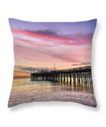 Balboa Pier at Sunset, Throw Pillow, seat cushion, fine art, home decor,... - $41.99 - $69.99