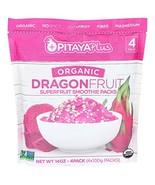 Pitaya Plus Organic Red Dragon Fruit Smoothie Pack. Frozen Puree Packets... - $129.84