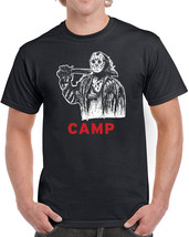 021 Jason Camp mens T-shirt crystal lake 80s scary movie horror cool vintage new - $15.00+