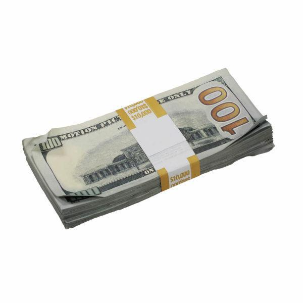 New Style $1,000,000 Aged Blank Filler Prop Money Bundle Realistic Prop Money image 3