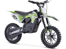 MotoTec 24v 500w Gazella Electric Dirt Bike Green - $429.00