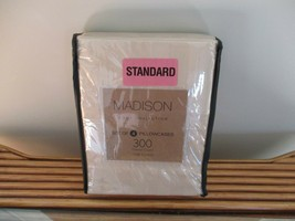 BNWT Madison Home Collection Set of 4 Standard Pillow cases, 100% cotton, 300TC - $16.82