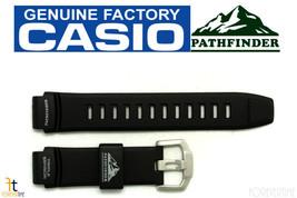 CASIO Pathfinder PAW-2000 Original 18mm Black Rubber Watch BAND Strap - $47.45