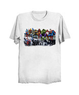 Marvel DC Superheroes Skyscraper Lunch - Cut-Out T-Shirt *FREE US Shipping* - $29.99