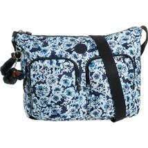 NWT $109 Kipling Sidney Crossbody Messenger Bag in Roaming Roses  - $59.39