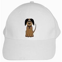 """Cartoon Sweet Dog""  White Baseball Cap - $17.99"