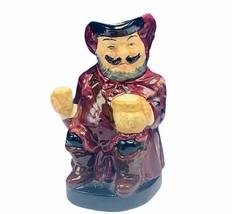 Royal Doulton toby mug jug cup bust figurine England John Falstaff Shake... - $49.45