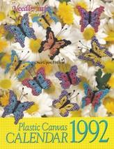 Calendar 1992, The Needlecraft Shop Plastic Canvas Pattern Calendar 923201 - $3.95