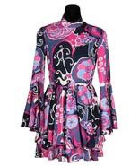 Ladies 70's Dress  - Mauve / Purple  XS-XXL  - $48.81