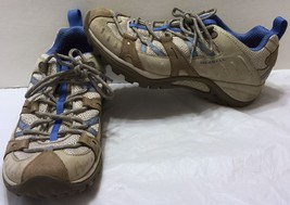 Merrell Siren Sport Aluminum Washed Denim Hiking Shoes Size 7.5 Vibram S... - $44.64