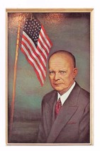 FIRST DAY OF ISSUE POSTCARD 6 CENTS DWIGHT EISENHOWER OCT 14,1969 - $2.32