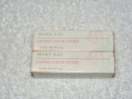 NIB MARY KAY COSMETICS LASTING COLOR LIPSTICK POSITIVELY PINK #1562 LOT ... - $25.99