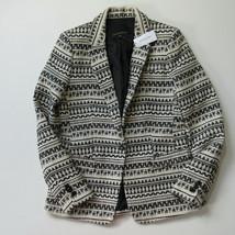 NWT Banana Republic Jacquard One-button Blazer Woven Knit Jacket 6 $198 - $37.00