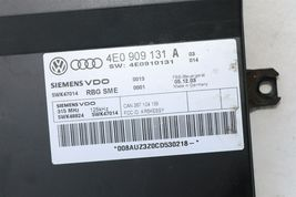 Audi A8 Kessy Keyless Entry Lock Control Module 4e0909131 Oem 5wk47014 image 4