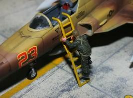 USAF Pilot climbing ladder 1:72 Pro Built Model #3 - $16.82