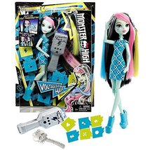 Mattel Year 2015 Monster High 11 Inch Doll - VOLTAGEOUS HAIR FRANKIE STE... - $34.99