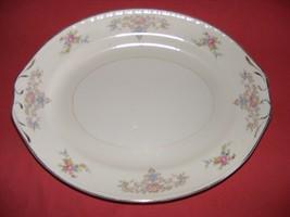 Homer Laughlin Wedgwood Oval Serving Platter  Eggshell Georgian - $19.95