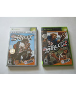 Lot of 2 Xbox Games NFL Street + NFL Street 2 COMPLETE EA Sports BIG - $14.25