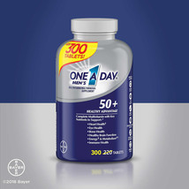 NEW One A Day Men's 50+ Healthy Advantage Multivitamin,300 Tablets FREE SHIPPING - $31.99
