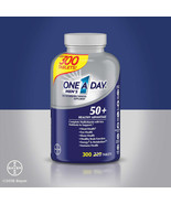 NEW One A Day Men's 50+ Healthy Advantage Multivitamin,300 Tablets FREE ... - $31.99