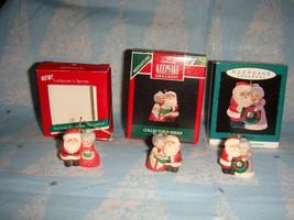 Hallmark Miniature The Kringles 1989, 1992 & 1993 Lot Of 3 Series Ornaments image 2