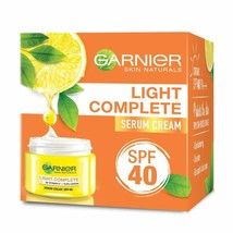 Garnier Skin Natural Light Complete White Speed Fairness Serum Cream, 40g - $7.91