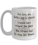 Music Lover - Our Lives Are Better Left To Chance - The Dance Song Lyric... - $14.80+