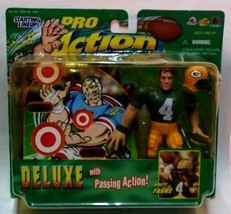 Greenbay Packers #4 Brett Favre Action Pro Figure Made By Starting LINE-UP (Nip) - $12.86