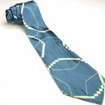 Teal Swing Tie | McFarlin's Longchamps Satin Silk Necktie - $89.10