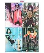 KISS Band 24 x 36 Australian Dynasty Collage Reprint Poster - Rock Colle... - $50.00