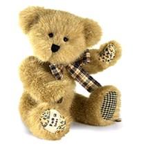 "Boyds Bears ""Jinny Mae Quiltenfriend"" #02009-31- 8"" FoB Plush Bear- New-... - $19.99"