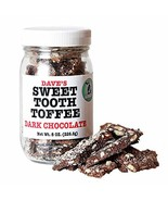 Dave's Sweet Tooth Toffee, Dark Chocolate Flavor with Real Butter, Real ... - $77.20