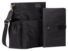 Kate Spade Blake Avenue Adamson Baby Diaper Bag Laptop Business Tote Bla... - $163.65