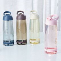 Water Bottle with Straw BPA Free Outdoor Sports Bottles 1000ml High Quality - $228,47 MXN+